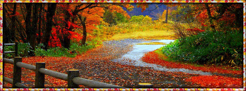 Scenic Photos: Fall Scenery Cover Photos For Facebook